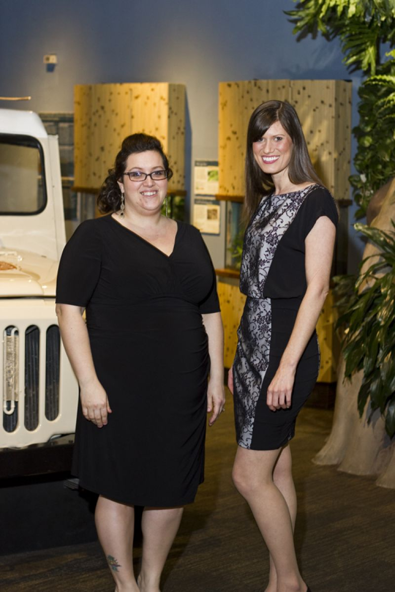 Tina Stell and Rachel Wallace, a future mentor