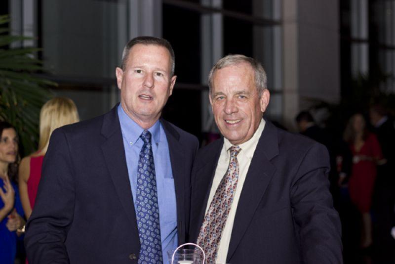 Bob Jennings & Ken Lane drove all the way from Washington, D.C. to be at the gala.