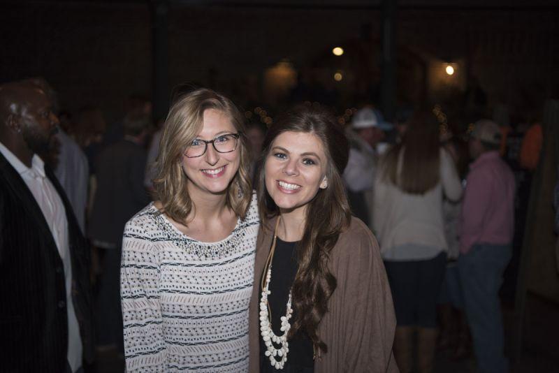 Lauren Prettyman and Molly Wickham