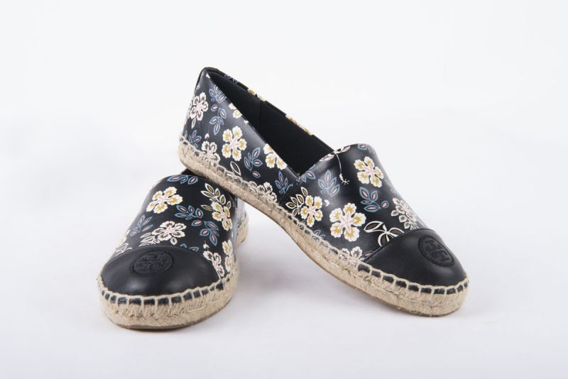 """Tory Burch """"Hopewell"""" embroidered floral espadrilles, $150 at Gwynn's of Mount Pleasant"""