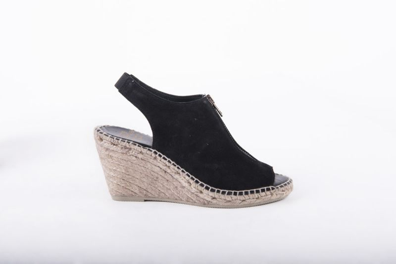 """Andre Assous """"Rhea"""" suede espadrille sandal, $179 at Gwynn's of Mount Pleasant"""