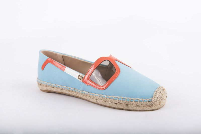 """Tory Burch """"Sunny Espadrille"""" in jewel oasis, $195 at Shoes on King"""