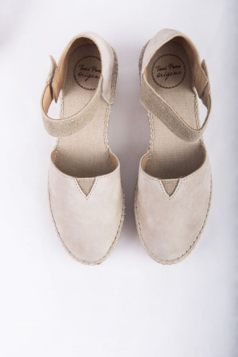 """Toni Pons """"Eibar"""" in the color stone, $139 at Shoes on King"""