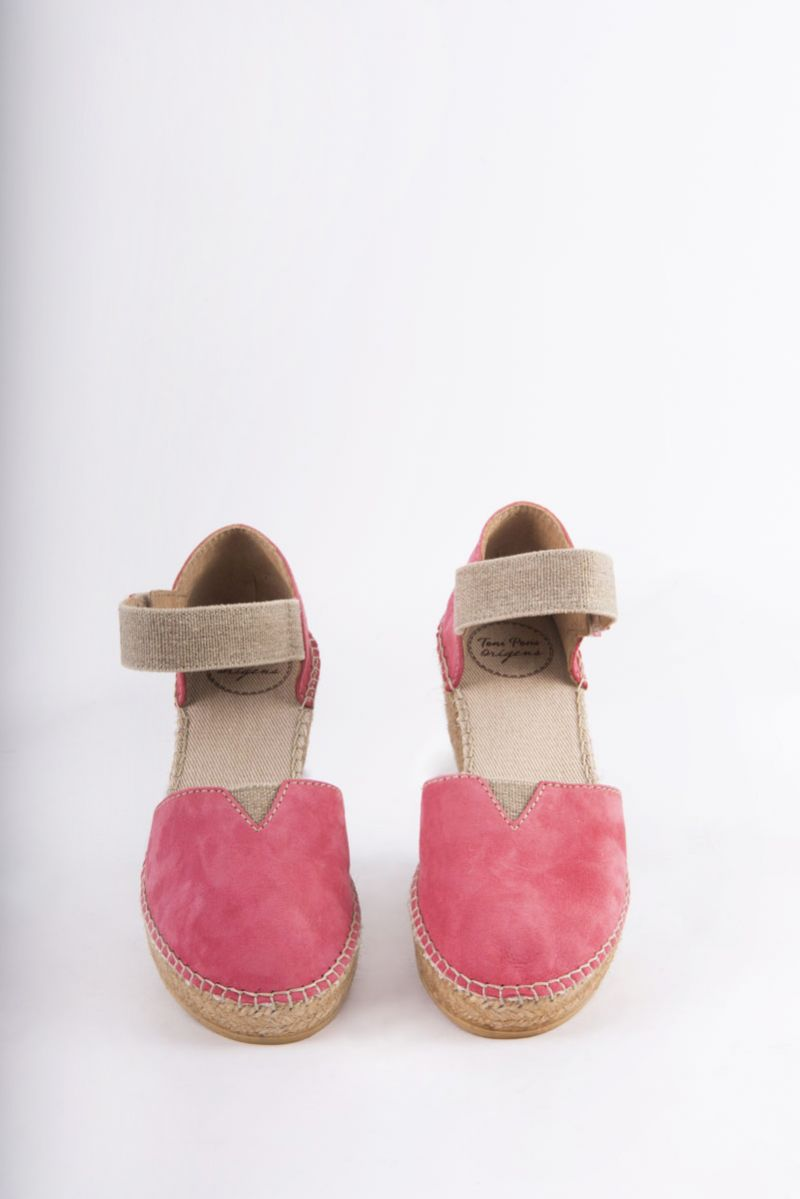 """Toni Pons """"Eibar"""" wedge espadrille in Raspberry, $139 at Shoes on King"""