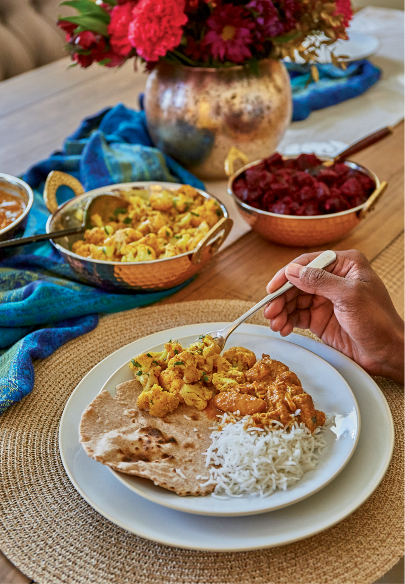 With a few pantry staples plus curry leaves sourced from West Ashley's Indian Spice or North Charleston's Bombay Bazar, cauliflower and  beets transform easily into classic South Indian dishes.