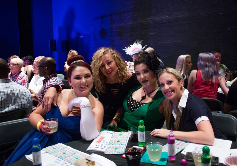 Megan Bussell, Mary Butler, Stephanie Snead, and Jennifer Mieras