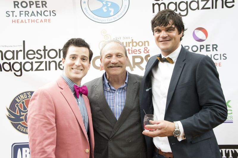 Positive Strides founder Ryan Brant with his father, Dennis Brant, and Michael Vandussel
