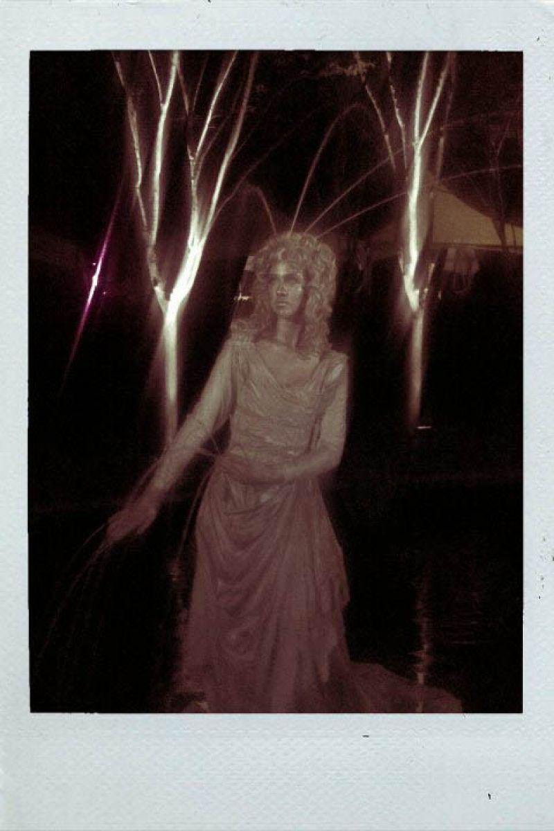 Live Sculpture Fountain!