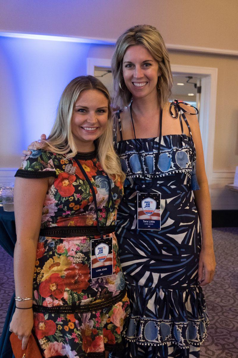 Chelsea Braden and Tara Little