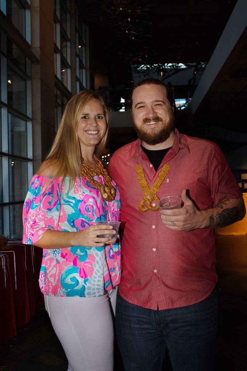 Bethani Morgan and Tyler Craft