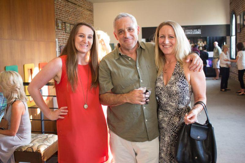 Betsey Geier, Wally Seinsheimer, and Charleston magazine editor in chief, Darcy Shankland