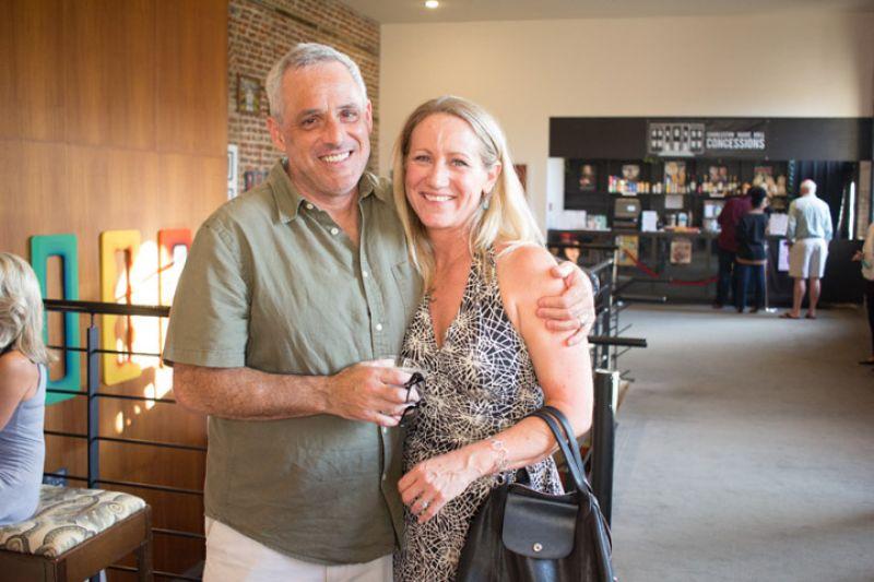Wally Seinsheimer and Charleston magazine editor in chief Darcy Shankland