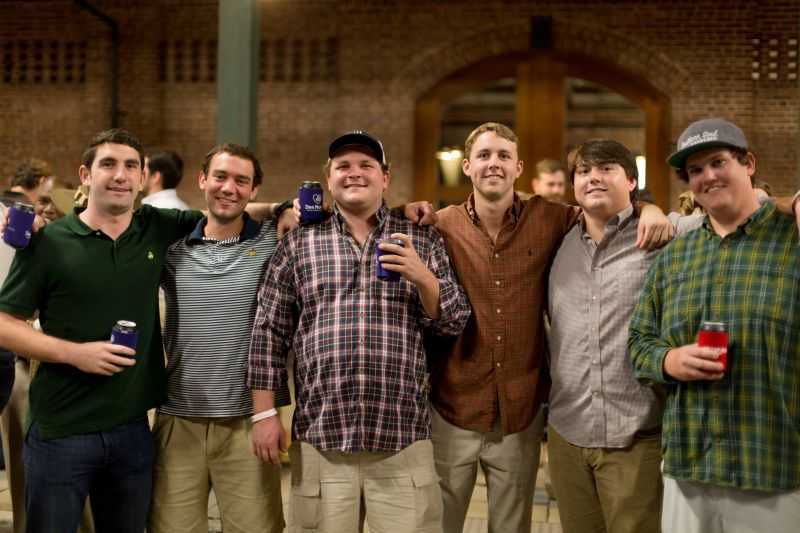 Harris Pharr, Scott Freed, Chase Alford, Kenny Henderson, Watson Verner, and Sam Maxwell