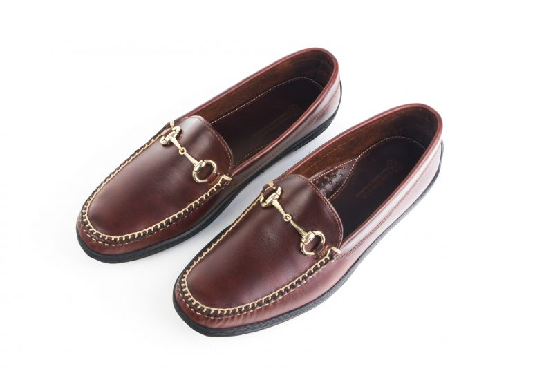 "Grady Ervin & Co. Private Label, ""Bit Driver"" in ""briar brown"", $185 at Grady Ervin"