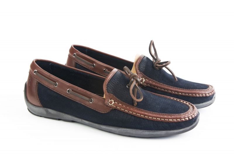 "Tommy Bahama, ""Odinn"" Moccasins in ""navy"", $125 at Belk"