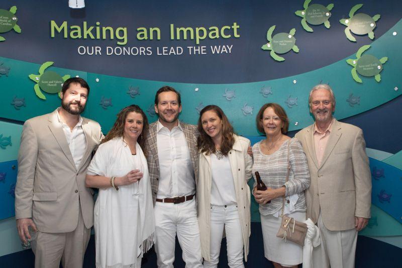 Jim Tatum, Julia Hughes, Matt and Jenny Dorsey, and Elaine and Dennis Dorsey