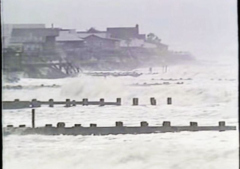 "Local television and radio stations broadcast nonstop with evacuation instructions. Charleston County Council chair Linda Lombard was on camera constantly, shouting the message: ""LEAVE! Leave NOW!"" Heavy wave action with eight- to 10-foot swells buffeted the Folly Beach coastline"