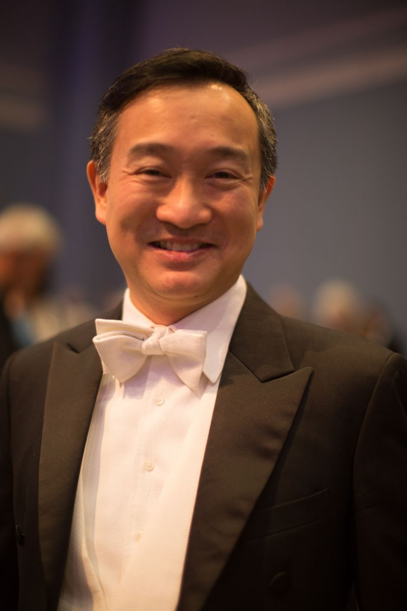 CSO music director and conductor Ken Lam