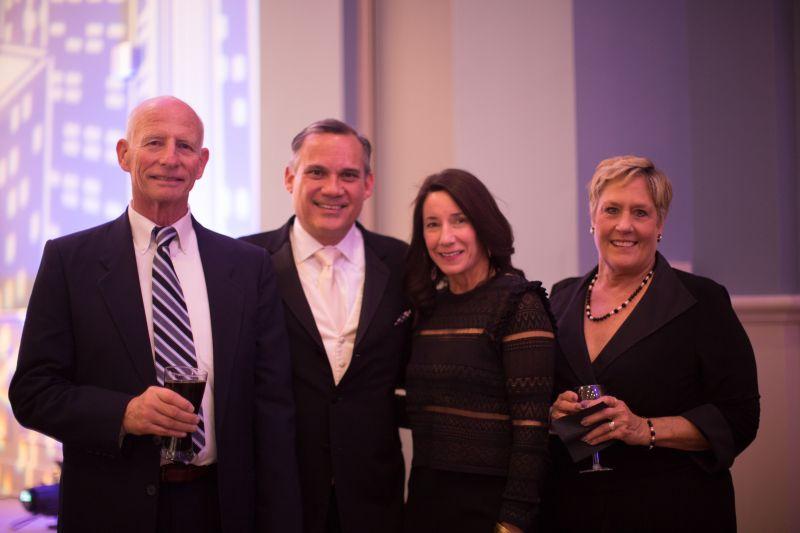 Denny Vrooman, David and Phoebe Mendez, and Carol Vrooman