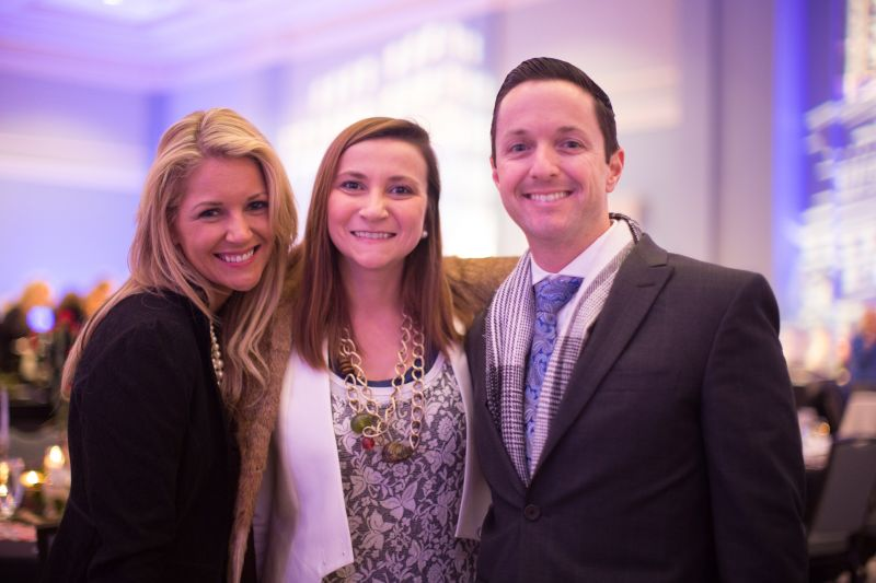 Lauren Sprinkle with Shannon and Justin Tapp