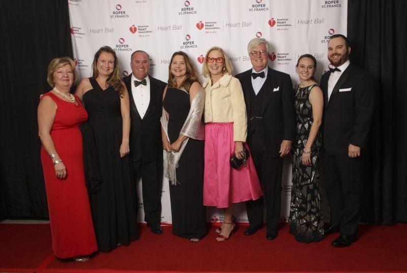 Susan Poeton, Anna Poeton, Jay and Ginger Millen, Vicky and Gerry Cameron, Lindsay Schoen Lane, and Matt Lane
