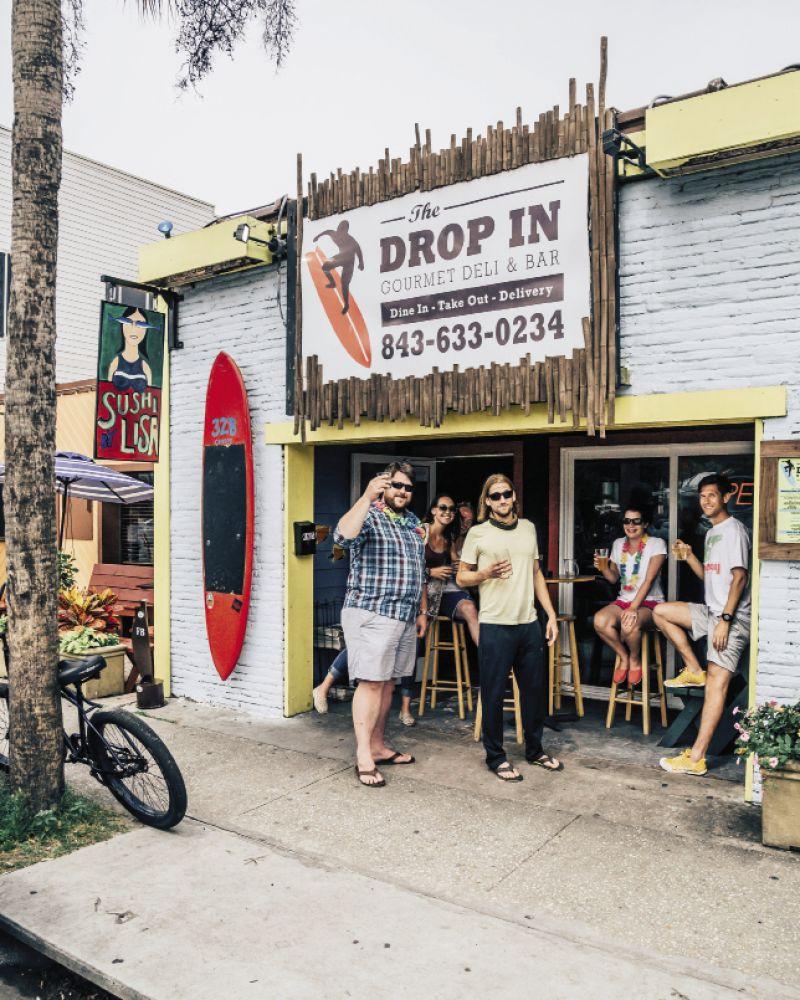 The Drop In Deli: 32-B Center St.  Daily: 11 a.m.-2 a.m. (843) 633-0234 dropindeli.com