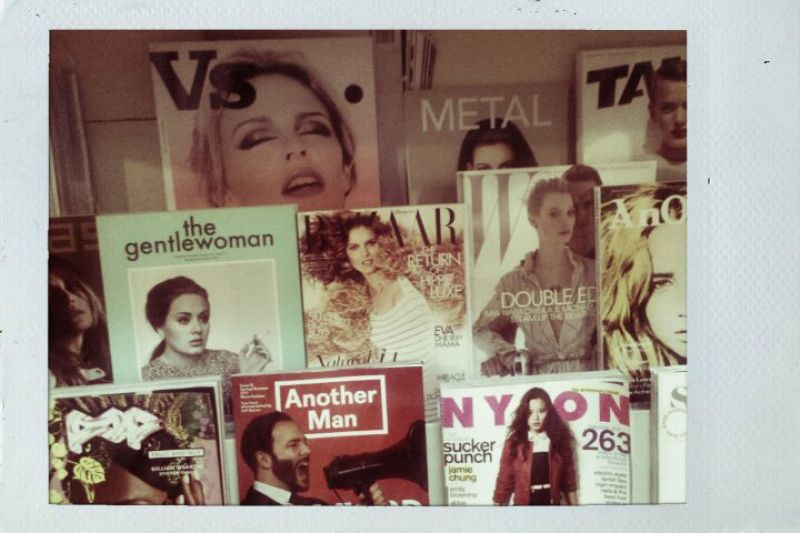 Downtown Books International Fashion Mag Selection