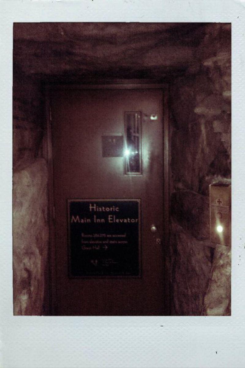 Grove Park Inn Cave Elevator