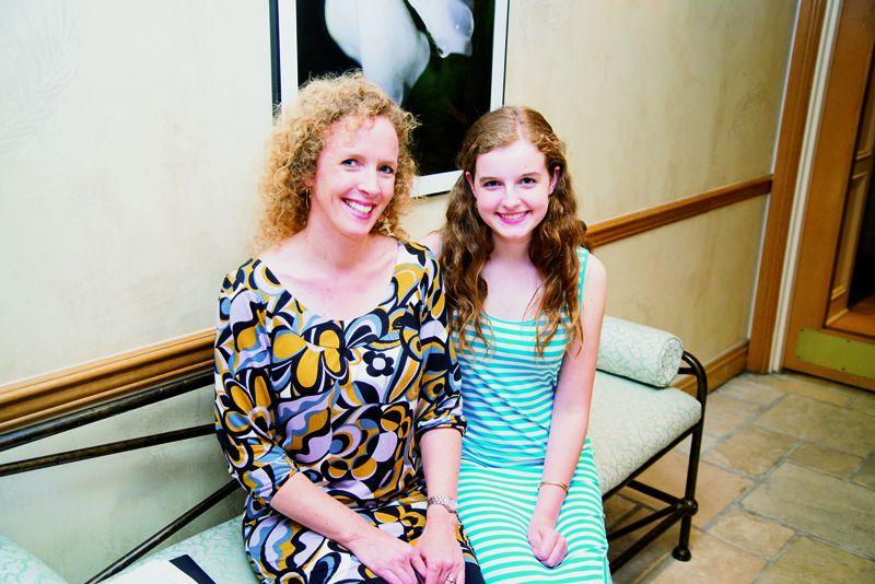 Jennifer and Eliza Metts