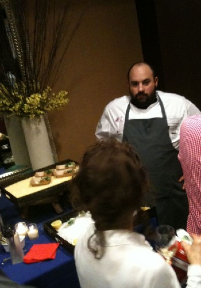 Chef Michael Paley meets and greets