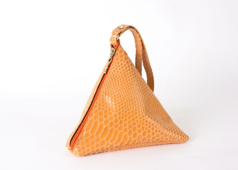 Kemestry textured triangle bag, $120 at Shoes on King