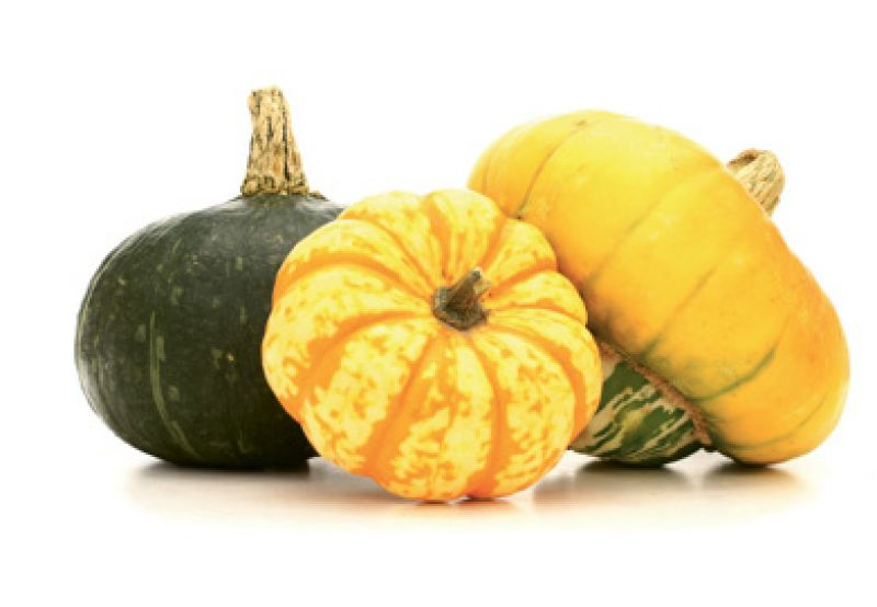 "Seasonal pantry: ""When the weather chills, I start thinking about winter squashes, baby carrots, and beets."""