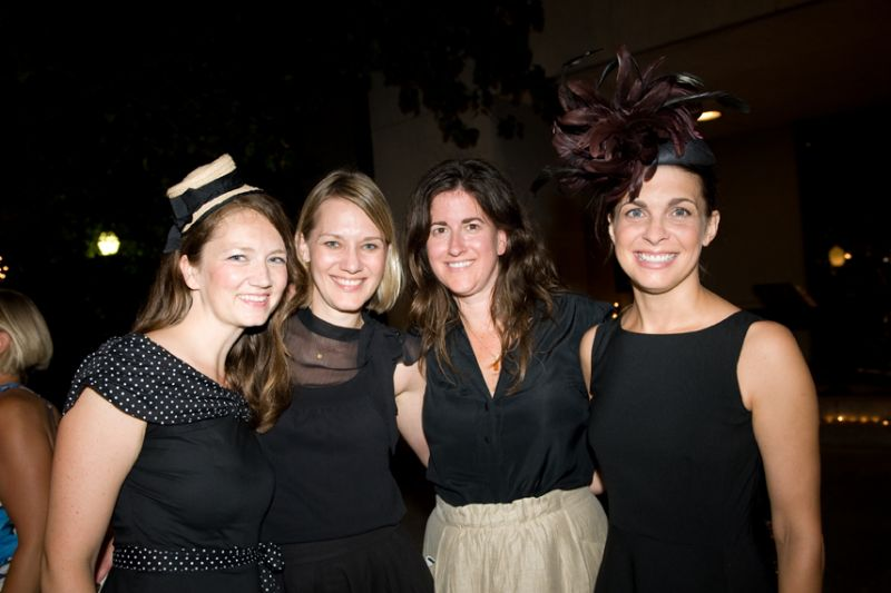 Heather Emrich, Anja Kelley, Cindy Hayes, and Jill Hooper