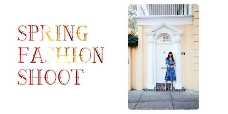 Embedded thumbnail for VIDEO: Spring Fashion Shoot 2017 // Behind the Scenes