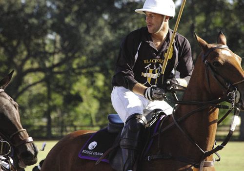 With a half-ton horse moving at speeds up to 25 miles per hour, polo is a dangerous sport.