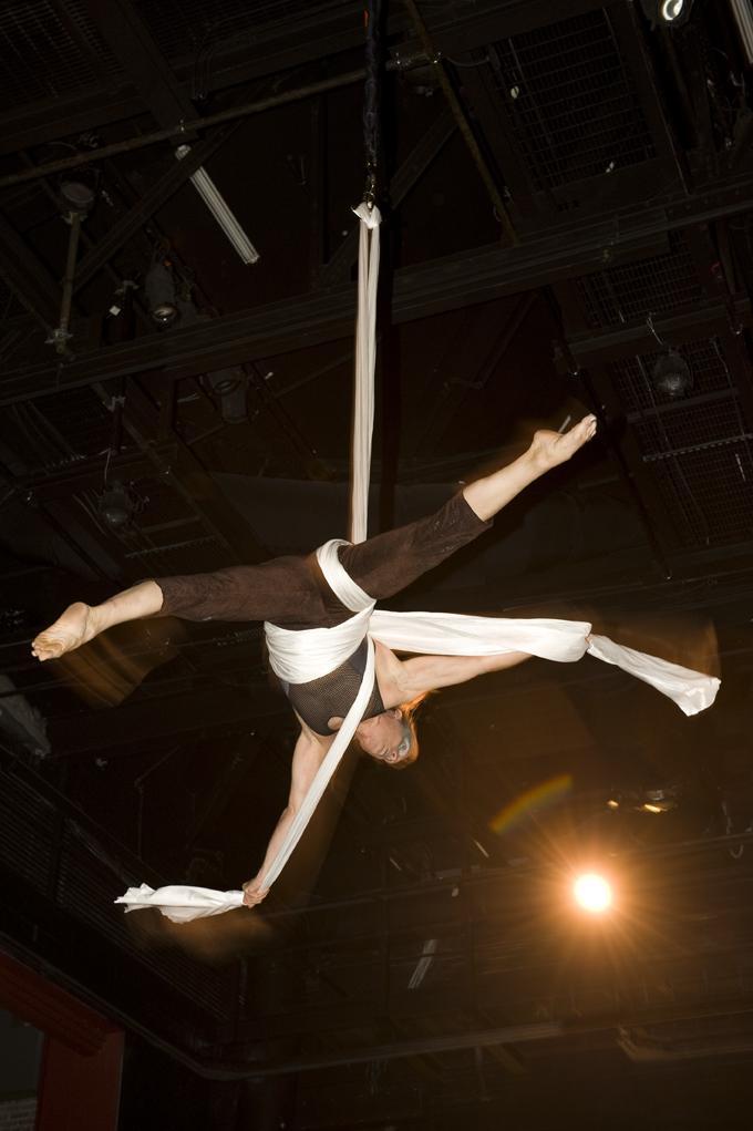 Wonderson Aerial Silks Performer Charleston SC