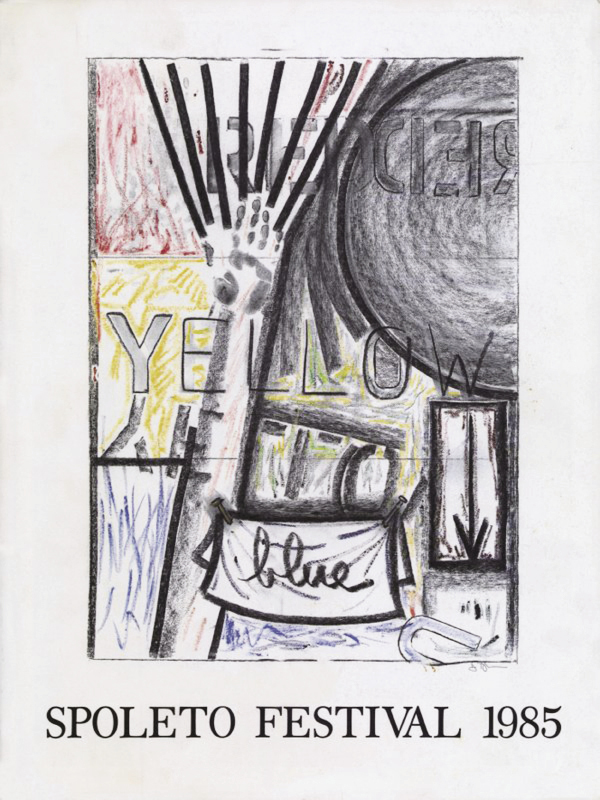 Johns created the 1985 Spoleto Festival USA poster.