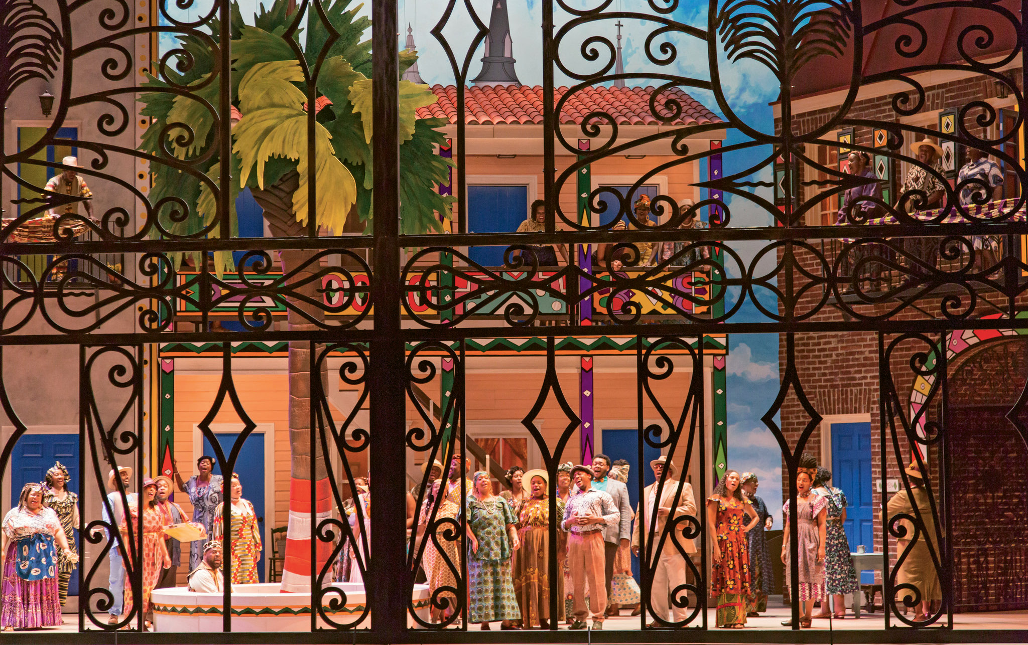 All Set: From story line and score to set design and costumes, Porgy and Bess at the Gaillard Center was a celebration both of the city's cultural roots and artistic maturity.
