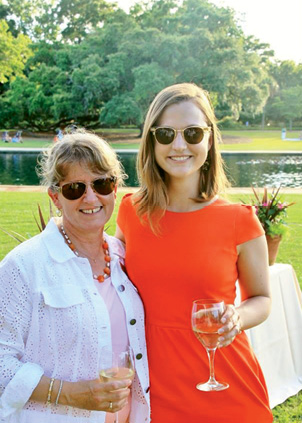 When the couple hosted a free screening of Olmsted and America's Urban Parks in 2013, it was a homecoming for daughter Rebecca, who wrote and produced the PBS documentary.