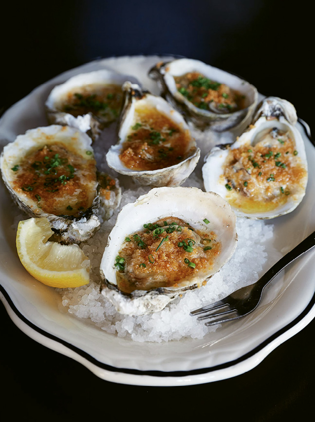 OYSTERS ON THE HALF SHELL: The Ordinary