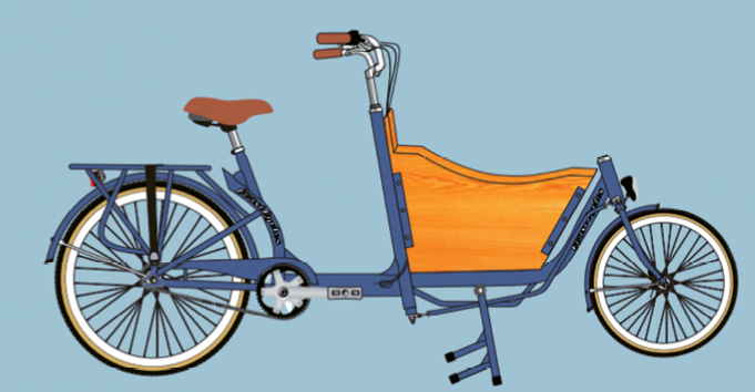 """The new """"Bike Bus"""" comes in two- and three-wheel styles."""