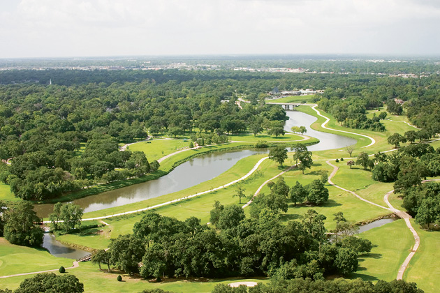 The Brays Bayou Project in Houston aims to link parks and trails along the waterway to improve flood control, economic development, and community quality of life.