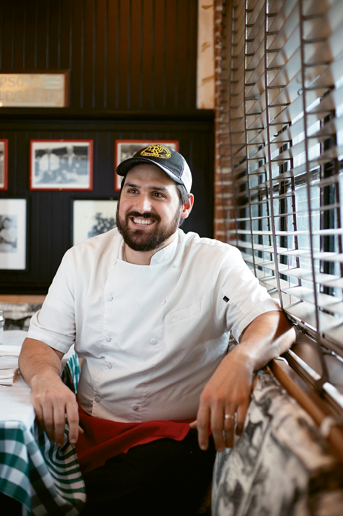 Where Veggies Meet Steak: Chef John Amato earned a reputation for outstanding vegetable dishes at The Park Café.
