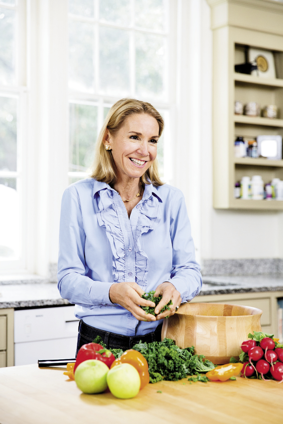 """I grew up with Southern food, and I love it,"" notes Dr. Ann. ""Sure, there are some culturally entrenched habits that aren't good for us, but lots of traditional Southern foods are excellent super foods. It just depends on how you prepare them."""