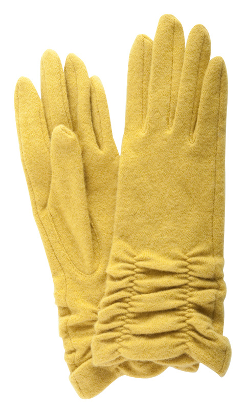 Echo rouched touch compatible gloves, $38 at Teal