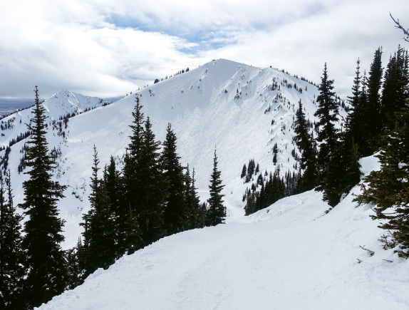 The rarely crowded slopes