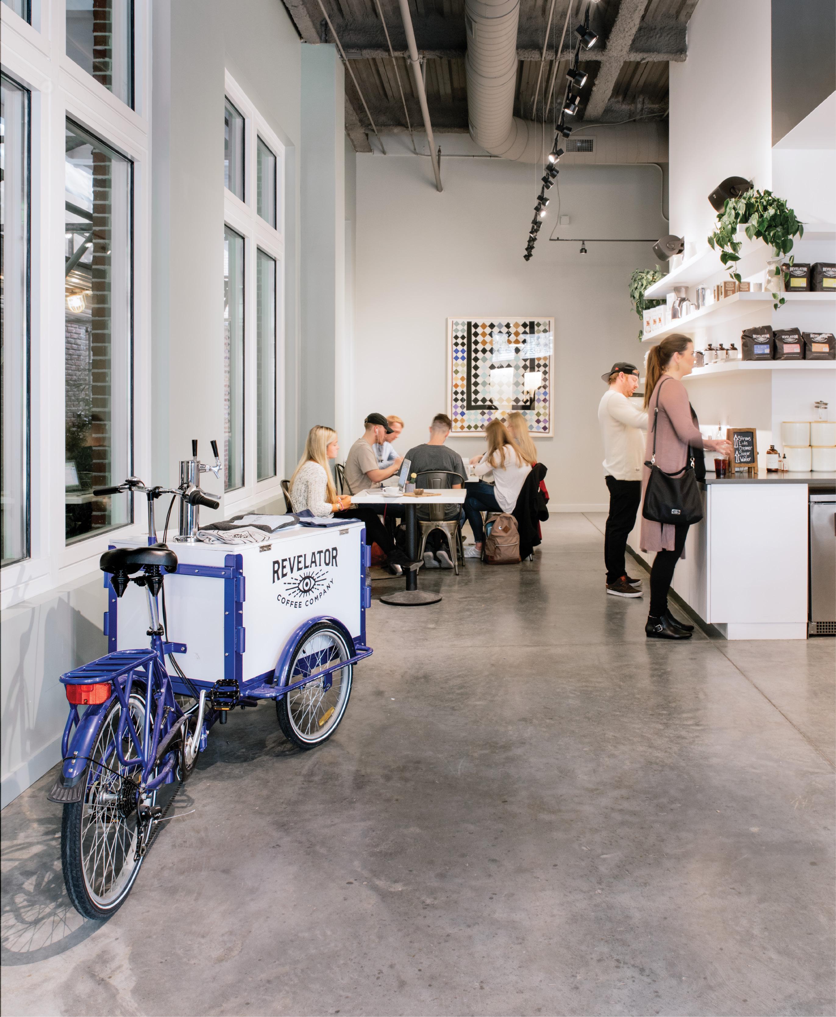 Birmingham-based Revelator opened its airy upper King Street storefront last November, adding to the peninsula's coffee shop blend.