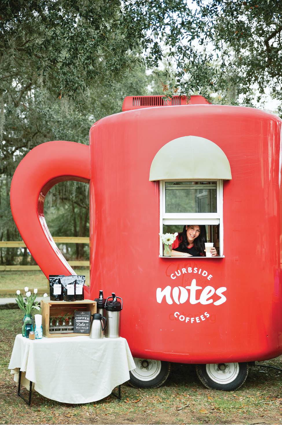 Follow That Cup: Notes Curbside Coffees