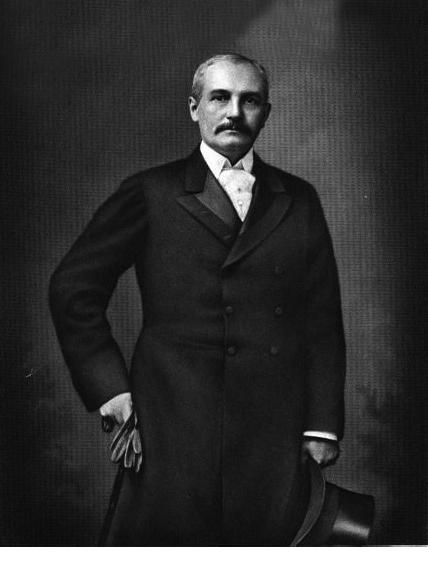 Gertrude's father, John Sanford