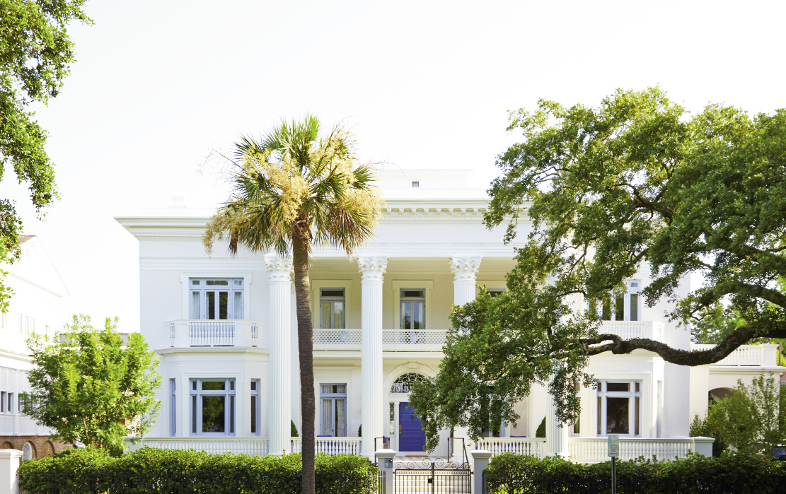 Villa Margherita, the newly revived manse on High Battery